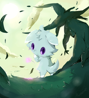 Espurr by purpleninfy