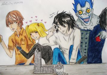 Death Note's HQ by Christinechan