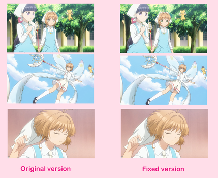 Fixing animation errors in CCS: Clear Card by ericgl1996