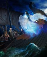 Earendil and Elwing by steamey