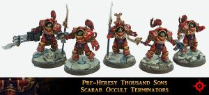 PH Thousand Sons Terminator Squad by Proiteus