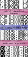 ScrappinCop Pattern set 3 by debh945