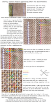How to Start Your Linen Stitches by pinkythepink