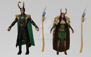 Loki Collection by Pitermaksimoff