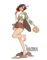 Character Design - Japan Inspired Character 01 by MeoMai