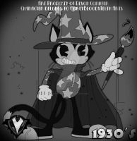 1930's - Tilly the Magical Cat by PlayboyVampire