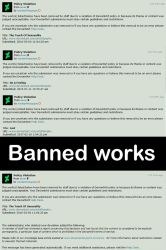 Banned works by ArtofdanPhotography