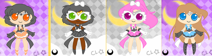 FREE Sailor Moon Adopts {CLOSED} by CyanCylinder