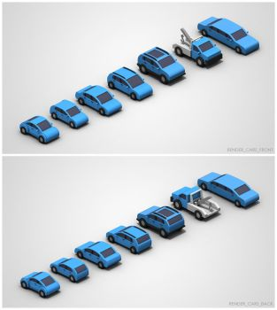 Financial Services Renders - Cars by chowgood