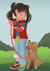 Punky Brewster and Brandon by lizzy1e
