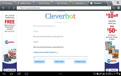 Cleverbot Gives The Answers... by Odoms-Spire