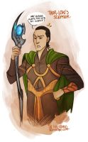 Thor - Loki's scepter by the-evil-legacy