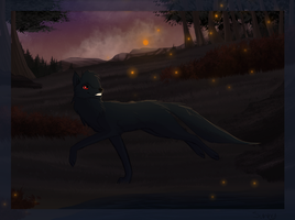 Fireflies (Commission) by SunnyyV