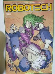 New Robotech comicbook  by macrossmecha