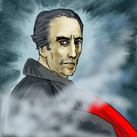 Christopher Lee by PeKj