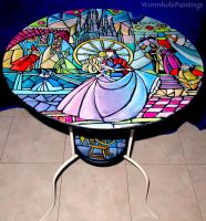 Once Upon a Dream - coffee table by WormholePaintings