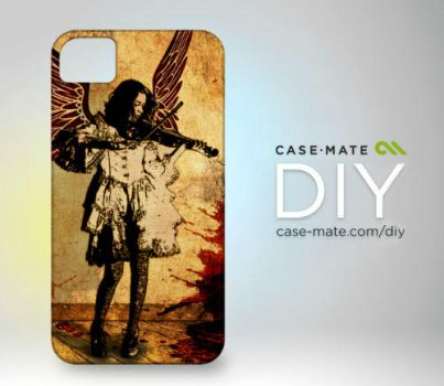 Speechless iPhone Case by UltraNoire