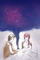 Kurowho - I'll bring you a piece of universe by ChibiChan-Valentine