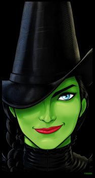 Wicked Elphaba by Thuddleston