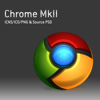 Chrome MkII Icons and PSD by dylanrw