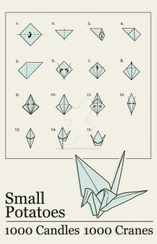 Small Potatoes Poster by Jippersnappers