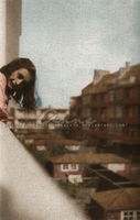 Anne overlooking Amsterdam by Livadialilacs