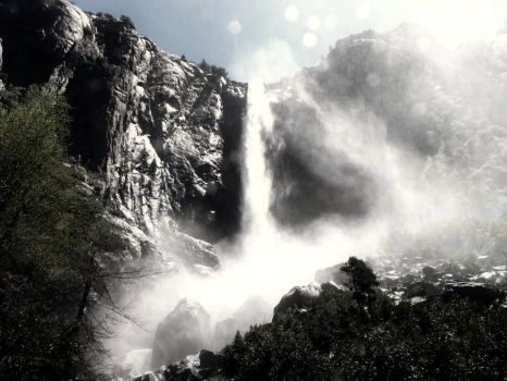 bridal veil by CrowsShadow