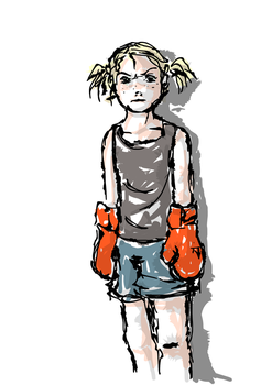 Boxer girl by Kimmy90