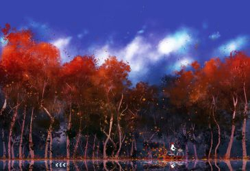 When  the air feels like fresh water. by PascalCampion
