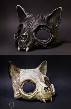Cat Skull Mask by FraGatsu