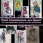 Point Commissions Are Open!! by tiggytiger2012