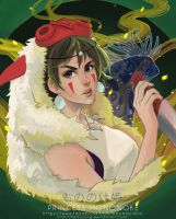 Princess Mononoke by maorenc