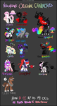 OC Collection - MLP Style by NekoMellow