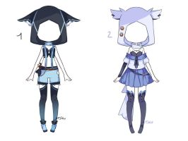 {Open 1/2} Auction Outfit 115 - 116 by xMikuChuu