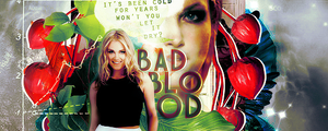 01 | Bad Blood Signature by itsmorphine