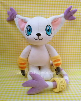 Digimon: Gatomon by sugarstitch