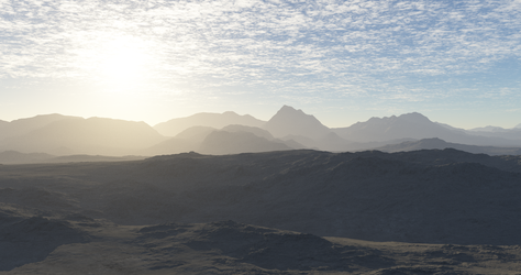 Terragen 4K rendering by christ13430