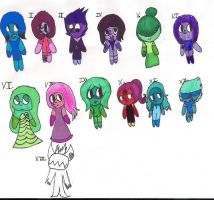 S.U Gem Batch #2 OPEN (LOWERED PRICES) (5/13) by MidnightMadness7