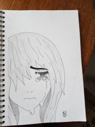 ~Anime Girl Crying~ by Emzroxs