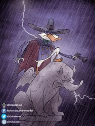 Darkwing Duck by chrisraimoart