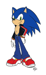 Project: Blue Future - Sonic the Hedgehog by UltimateGameMaster
