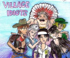 The Village Idiots by Valoofle