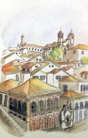 Ouro Preto, Brazil by rod-roesler