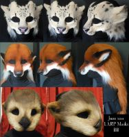 June LARP Masks by Magpieb0nes