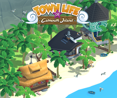 Town Life on Catmouth Island by Quakeulf2