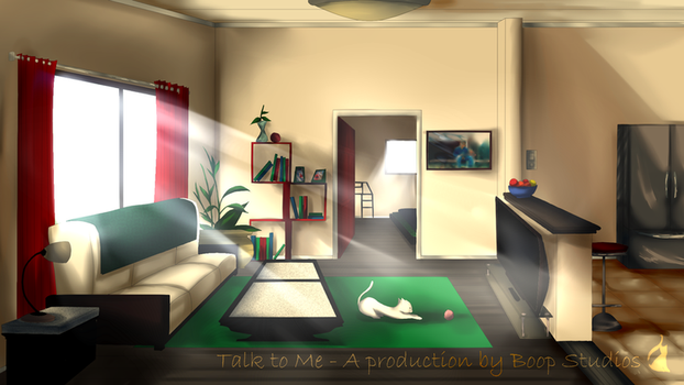 Evan's Room (Afternoon) by SigmaPiBond
