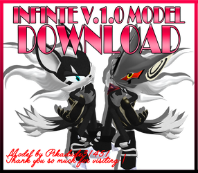 Infinte V.1.0. MMD model D0wnload by Pikadude31451