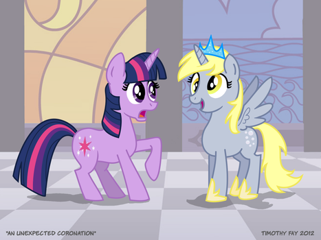 An Unexpected Coronation by Tim-Kangaroo