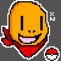 Charmander pixel art by Xenonitez