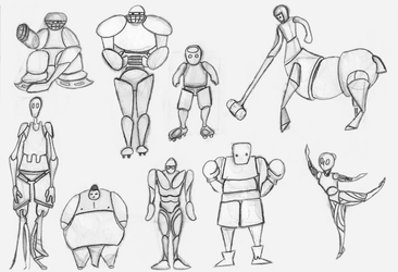 Sport Robots by AndresCuccaro